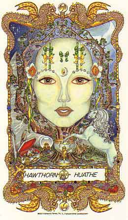 The Faces of Womanspirit, a Celtic Oracle of Avalon by Katherine Torres, Ph.D