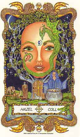 The Faces of WomanSpirit, a Celtic Oracle of Avalon