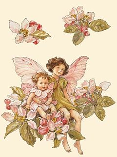 Apple Blossom Fairy by Cicely Mary Barker