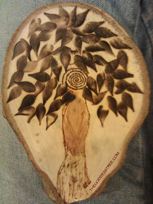 wood burned by Gwendolyn