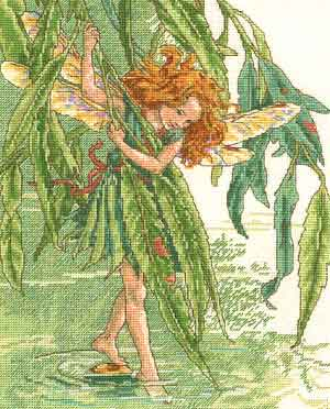 Willow Fairy by Cicily Mary Barker